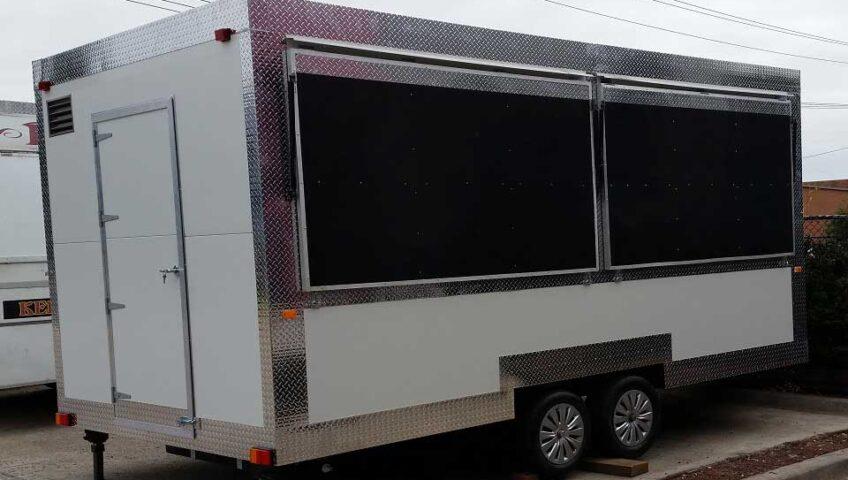 Custom Mobile Food Truck Trailer